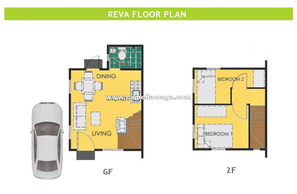 Reva  House for Sale in Naga City