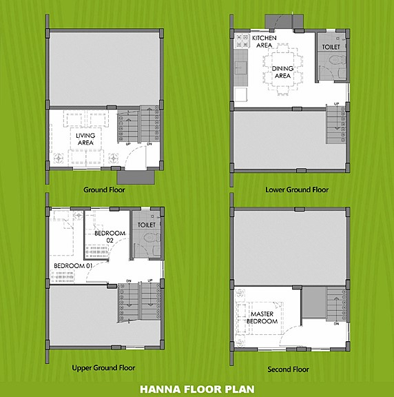 Hanna Floor Plan House and Lot in Naga