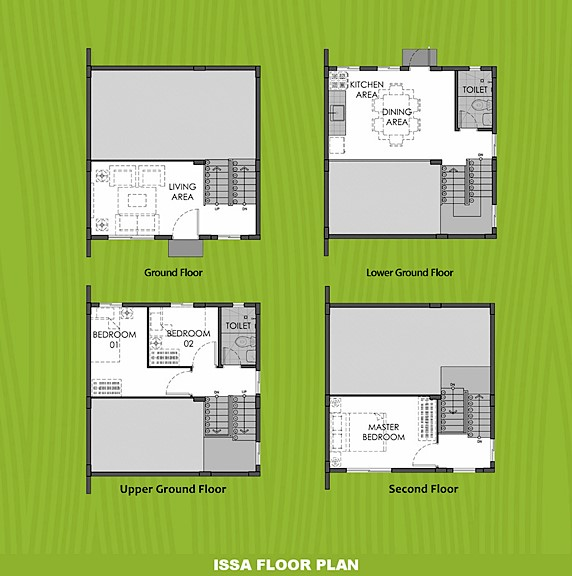 Issa Floor Plan House and Lot in Naga