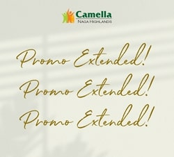 Promo for Camella Naga.